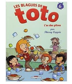 Les blagues de Toto - Tome 6- L'as-des pitre