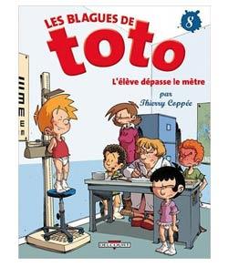 Les blagues de Toto - Tome 8 - L'élèv dépasse le mètre