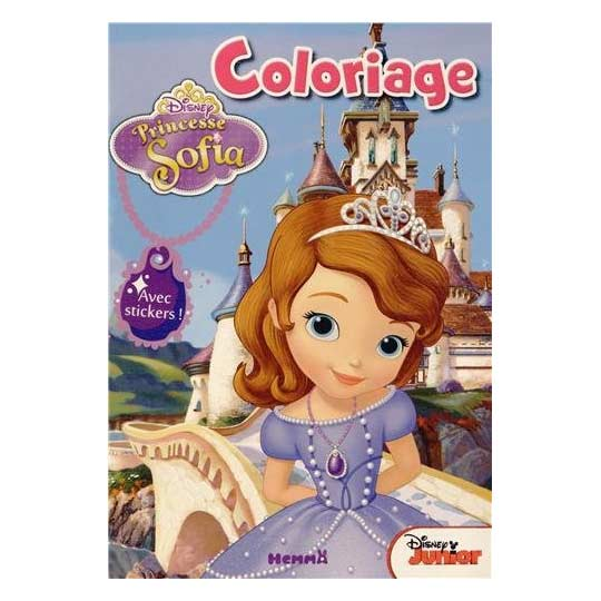 Coloriage Et Jeux Princesse Sofia