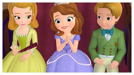 Princesse sofia la nouvelle princesse et h roine de disney - Princesse sofia et ariel ...