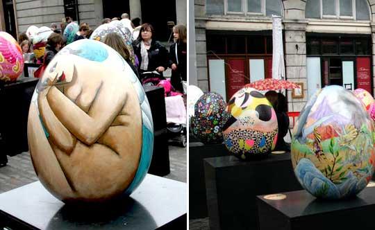Oeuf de Pâques à Londres