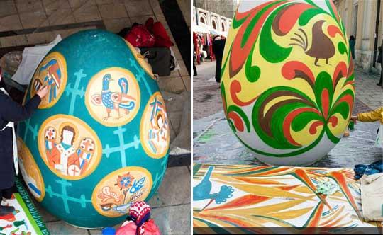 Oeuf de Pâques à Moscou