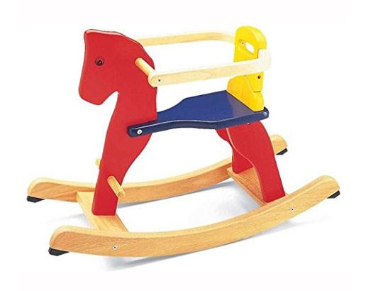 acheter un cheval bascule en bois s lection. Black Bedroom Furniture Sets. Home Design Ideas
