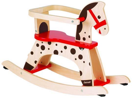 Acheter un cheval bascule en bois s lection - Cheval a bascule caramel ...