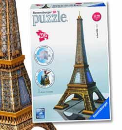 puzzle 3d les grands monument en puzzle 3d ravensburger. Black Bedroom Furniture Sets. Home Design Ideas