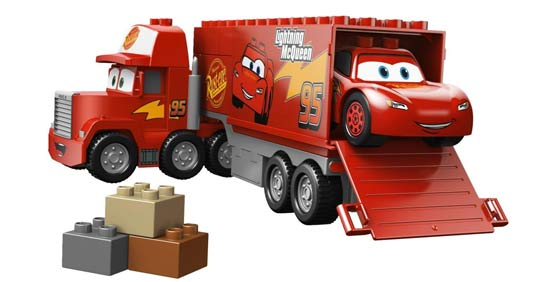 camion flash mcqueen. Black Bedroom Furniture Sets. Home Design Ideas