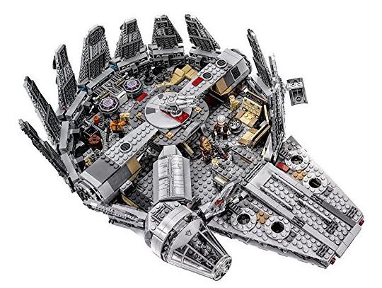 Millennium falcon lego 75105 for Interieur faucon millenium