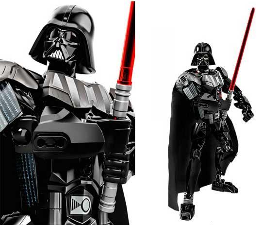 Lego figurines des personnages stars wars buildable - Lego star wars avec dark vador ...