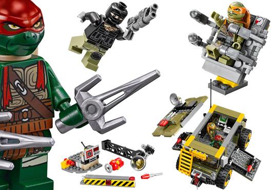 79115-Attaque Du Van De LEGO