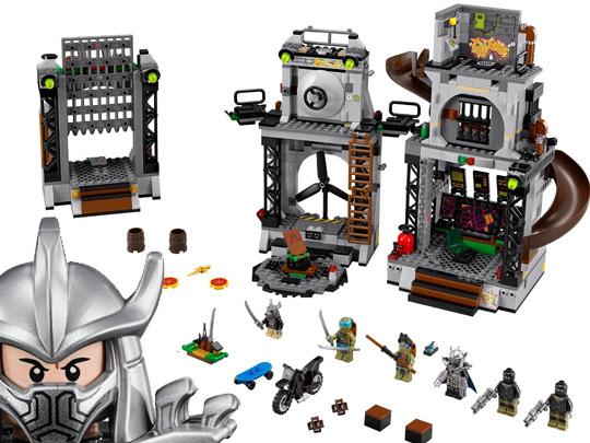 Lego tortues ninja teenage mutant ninja turtles for Repere des tortue ninja