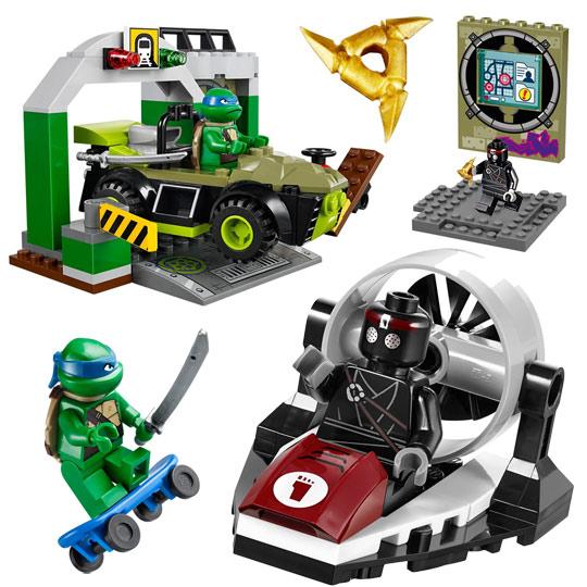 10669 lego juniors repaire des tortues ninja de lego - Voiture des tortues ninja ...