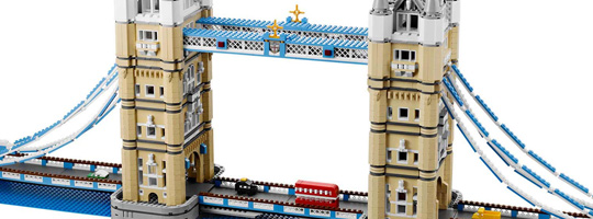 Tower Bridge Lego Modèle 10214