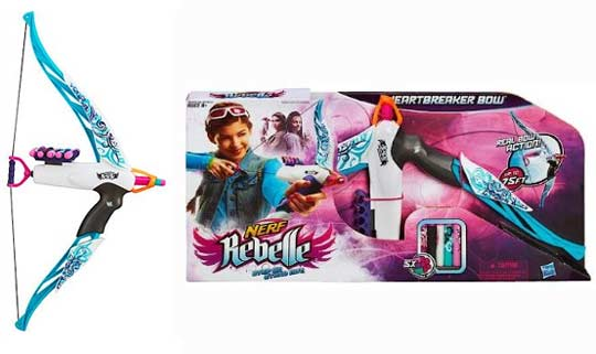 nerf rebelle arc heartbreaker. Black Bedroom Furniture Sets. Home Design Ideas