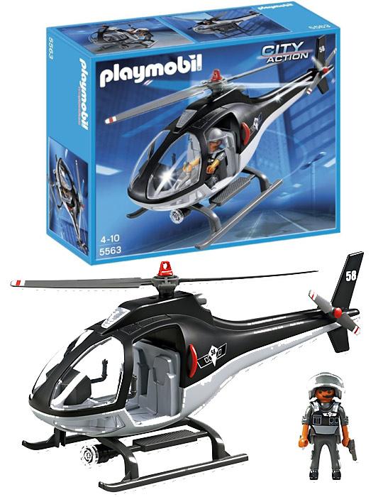 Playmobil®  5563  Hélicoptère avec Policier des Forces Spéciales  pas