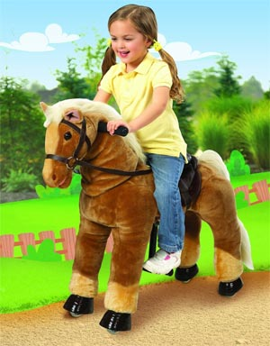 Ponycycle cheval roulette for Jouet exterieur 2 ans