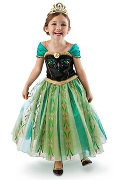 D guisement et costume reine des neiges - Anna princesse des neiges ...