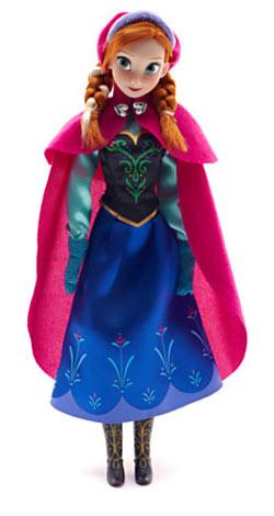 Reine des neiges poup es peluches figurines jouets - Anna princesse des neiges ...
