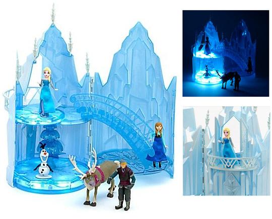 chteau de glace musical elsa de la reine des neiges