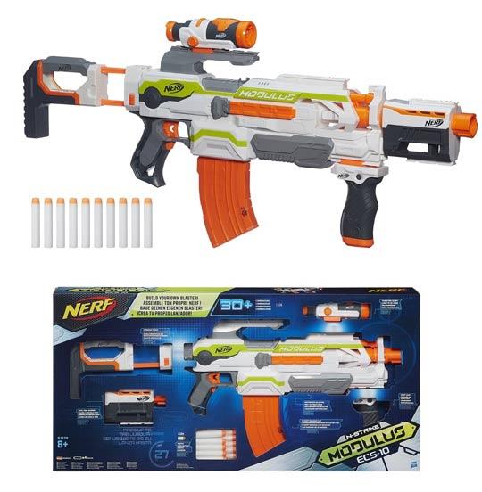 Le Nerf modulus est un fusil semi automatique qui propose une