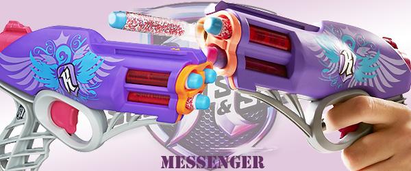 Rebelle Pistolet Messenger Secret Agent Nerf ZPN8wkOXn0
