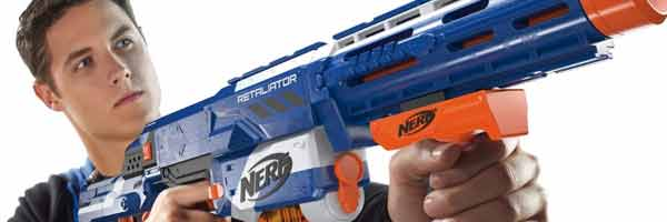 pistolet nerf strike elite retaliator. Black Bedroom Furniture Sets. Home Design Ideas