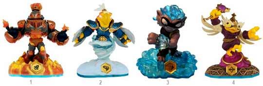 skylanders nouvelles figurines
