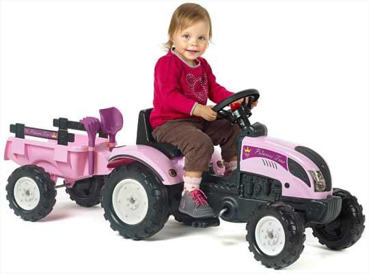 Tracteur pedales pour enfants - Jeu de tracteur agricole gratuit ...